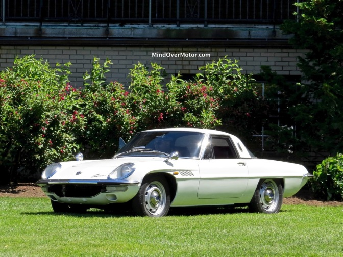 Mazda Cosmo Series II at the 2016 d'Elegance at Hershey