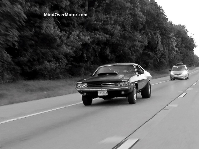 Modified 1971 Dodge Challenger spotted on 287 South in North Jersey