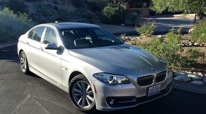 A BMW 528i is a Superior Rental Car That Will Spoil You