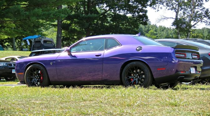 This Purple Challenger Hellcat is a Rolling Middle Finger Aimed at Everything Society Holds Dear