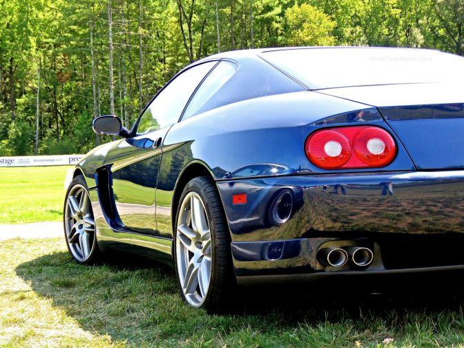 Look at this beautiful Ferrari 456M GT we saw at Lime Rock