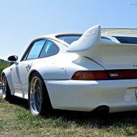 Porsche 993 GT2 on US soil at Lime Rock