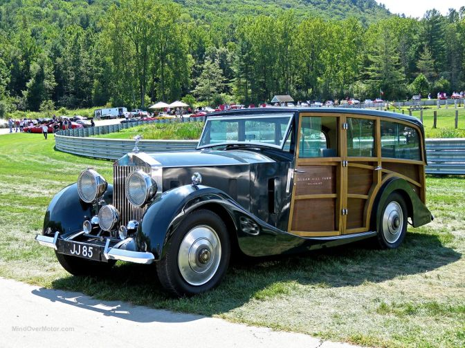If you're gonna have a woody, why not make it a Rolls?