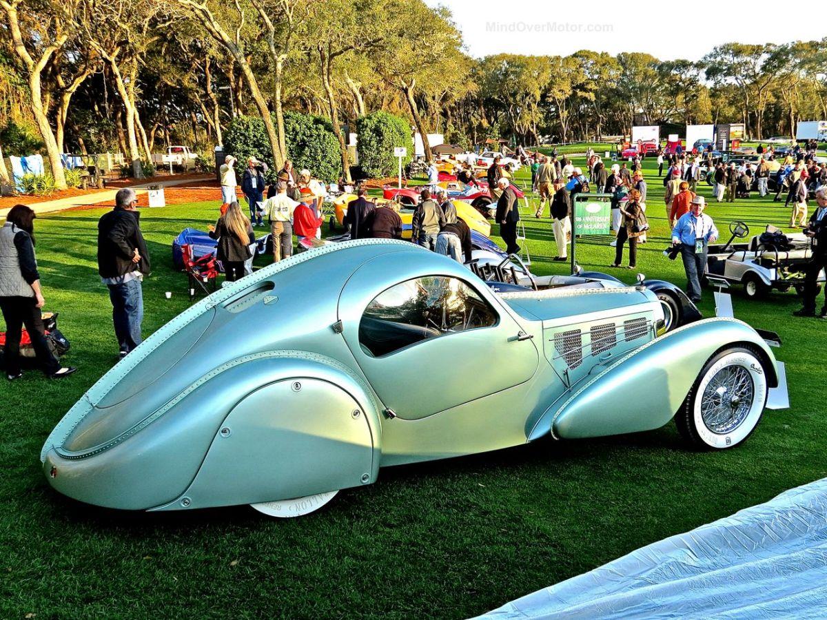 The Magnificent Bugatti Type 57 Aerolithe At Amelia Island