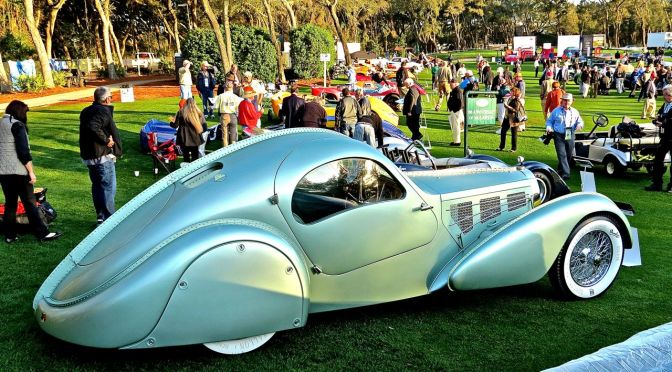 The Magnificent Bugatti Type 57 Aerolithe at Amelia Island