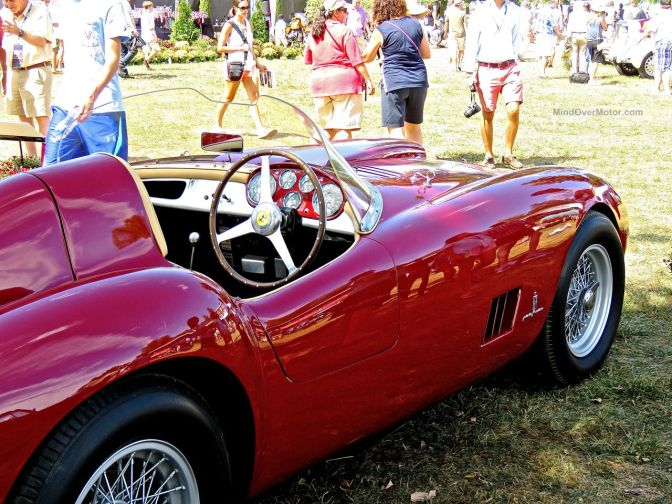 1954 Ferrari 375MM Spyder at Radnor Hunt