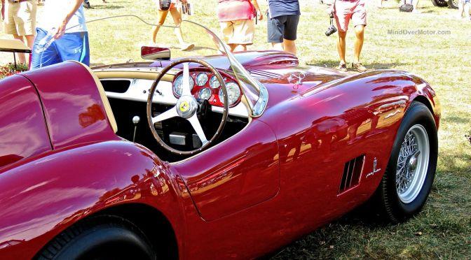 1954 Ferrari 375MM Spyder at Radnor Hunt