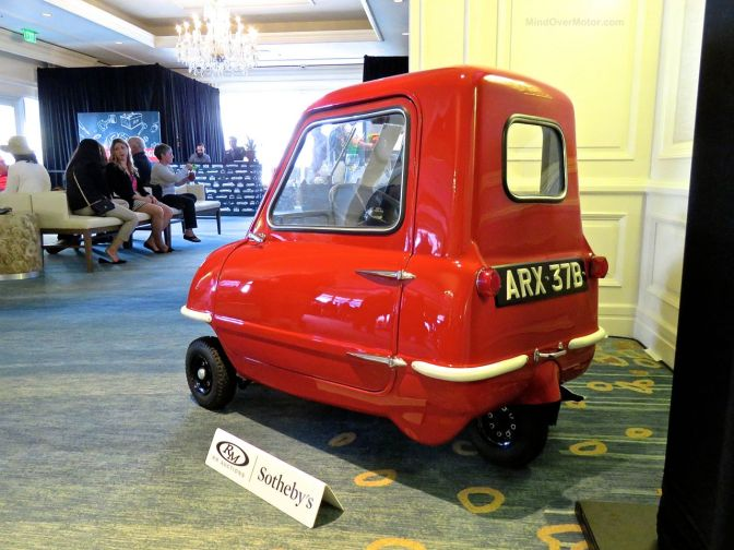 Peel P50 at Amelia Island: The World's Smallest Car