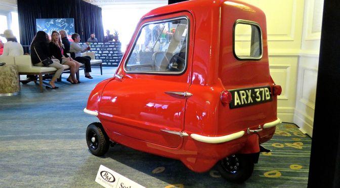 Peel P50 at Amelia Island: The World's Smallest Car
