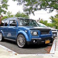 Check Out This Sweet n' Low Honda Element
