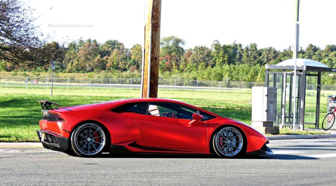 Modified Lamborghini Huracan at First Class Fitment