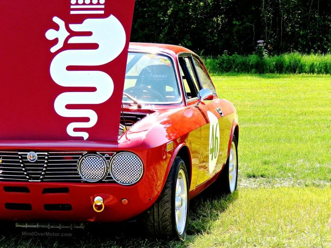 A Race-Ready Alfa at Lime Rock