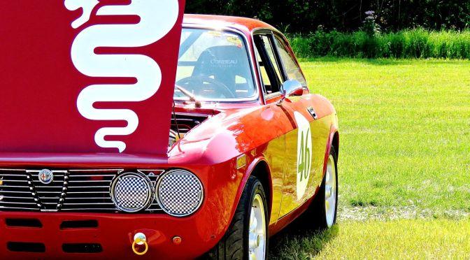 A Race-Ready Alfa at Lime Rock