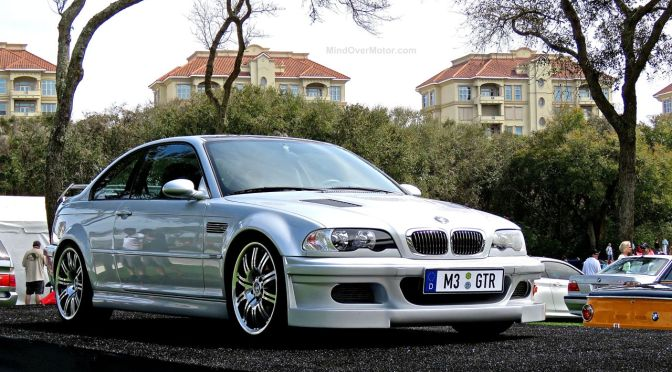 The Elusive Bmw E46 M3 Gtr At Amelia Island Mind Over Motor
