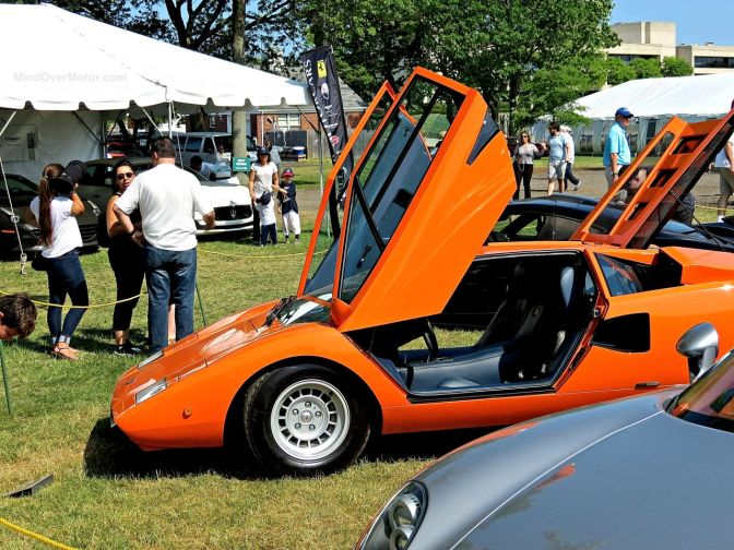 Lamborghini Countach at the Greenwich Concours