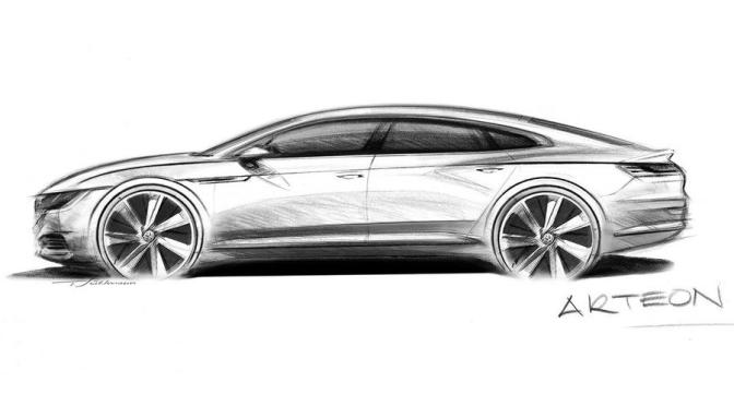 The VW Arteon Concept will be the CC part deux