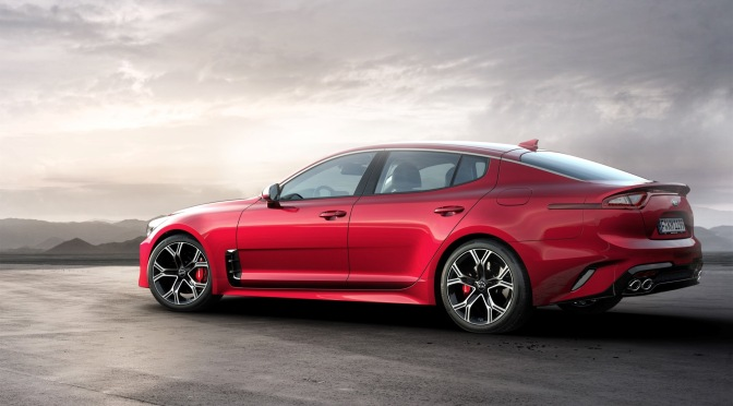The KIA Stinger GT may shake things up