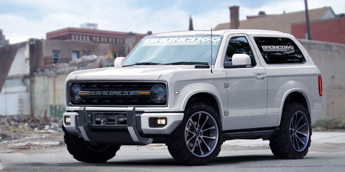 Ford better to not screw up the new Bronco...