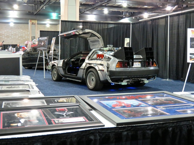 Back To The Future Delorean at the Philly Auto Show