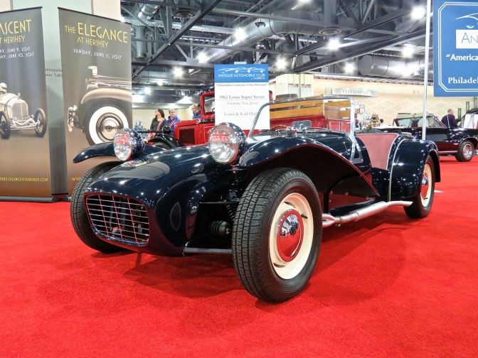 Lotus Seven at the Philly Auto Show