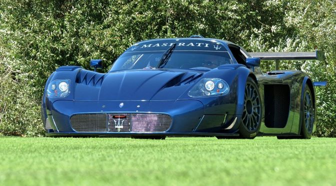 Maserati MC12 Corsa at The Quail