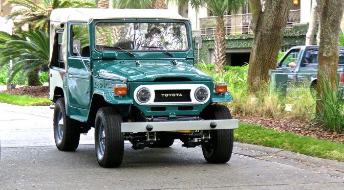 Classic Toyota FJ40 Spotted at Amelia Island