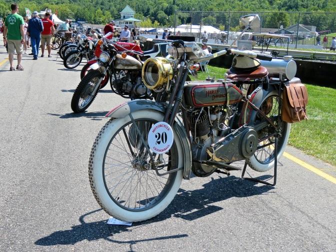 1916 Harley-Davidson 16F at Lime Rock