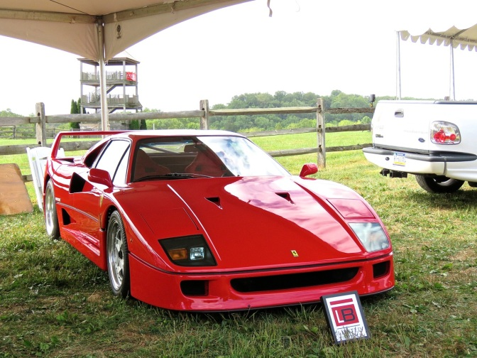 Ferrari F40 at Radnor Hunt