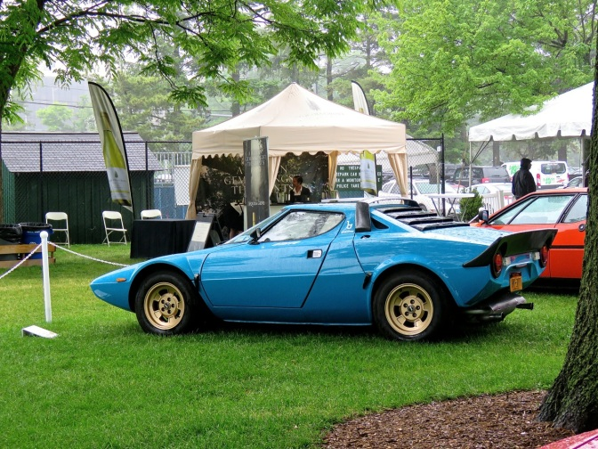 1975 Lancia Stratos at the Greenwich Concours