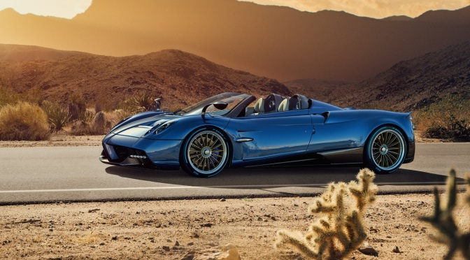 Pagani Releases the Huayra Roadster, and I need to go change my pants…
