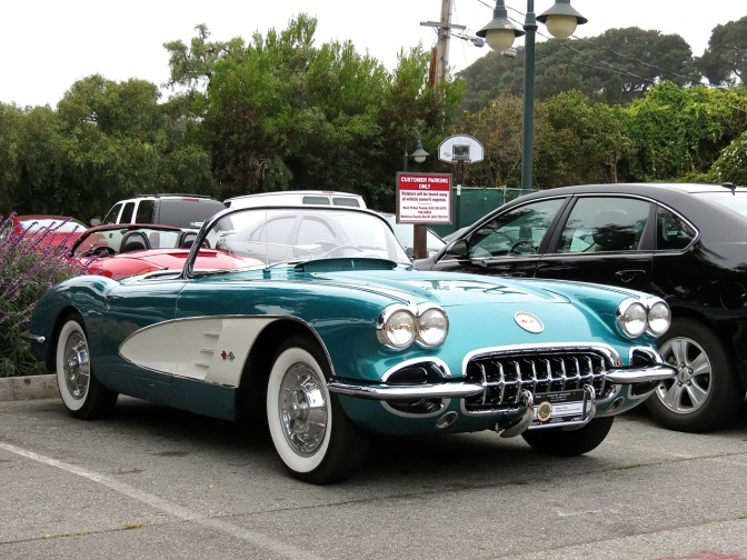 This C1 Corvette is Teal for Real