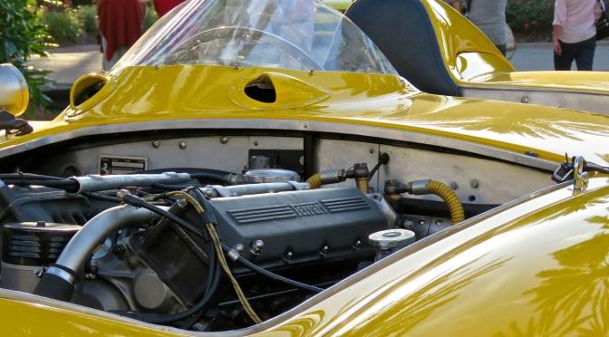 1955 Ferrari 750 Monza at Amelia Island