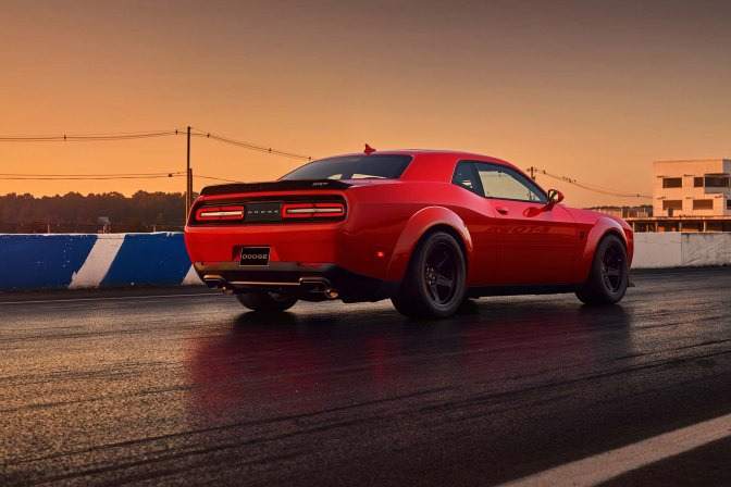 The Dodge Demon Heralds a New Era of Hyper Muscle Cars, and I'm Pumped!