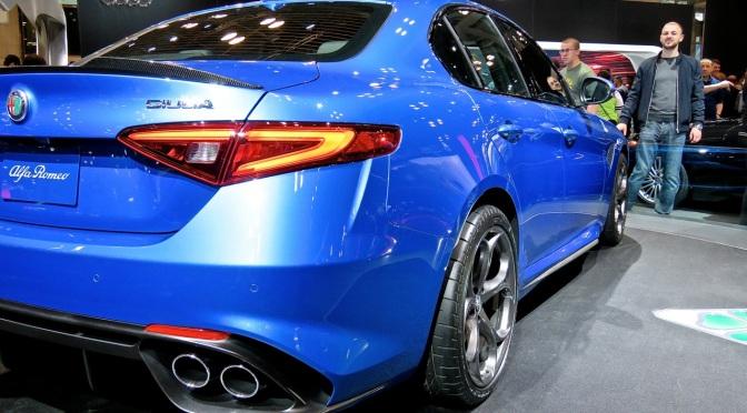 My new favorite color on the Alfa Giulia QV
