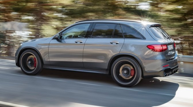 Mercedes just dropped my dream SUV, the GLC63 AMG