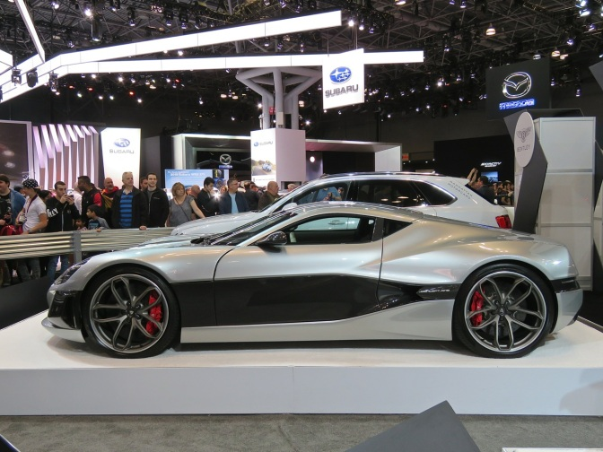 Rimac Concept One at NYIAS