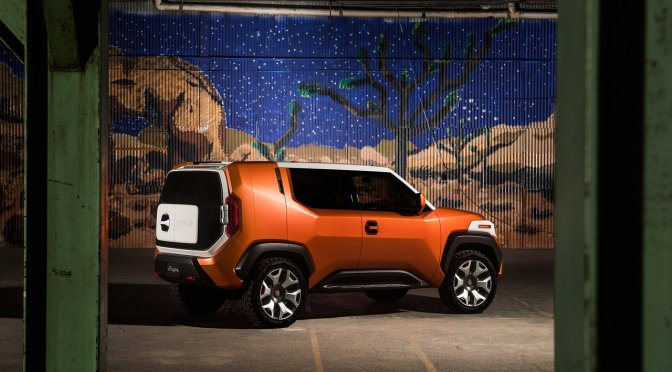 Am I the only one who likes the idea of a Jeep Renegade-like Toyota FJ?