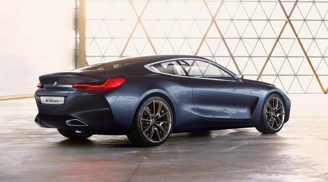 The new BMW 8 Series Concept looks incredible