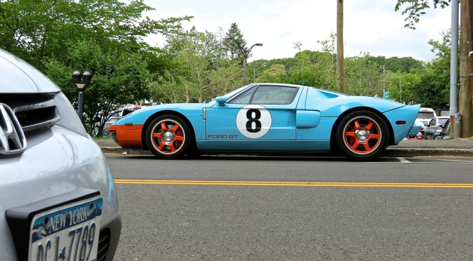 Ford GT Heritage Edition Spotted in Greenwich, CT