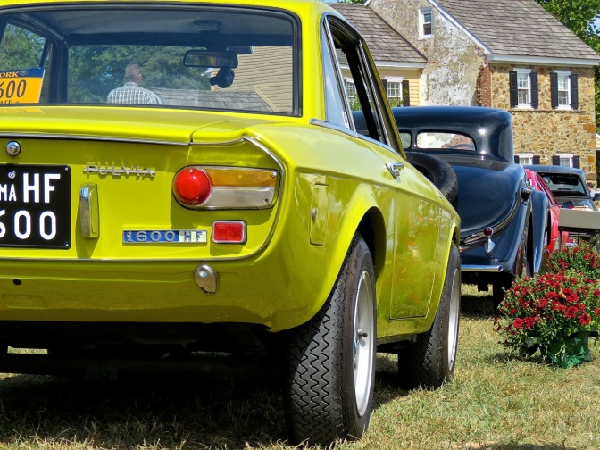 Lancia Fulvia 1600 HF at Radnor Hunt
