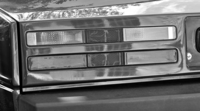 Aston Martin Lagonda S3 at the Greenwich Bonhams Auction