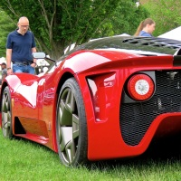 The Ferrari P4/5 by Pininfarina at the Greenwich Concours