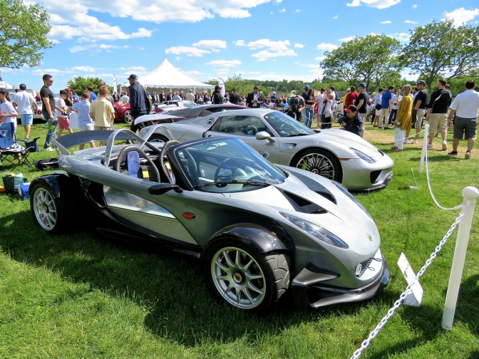 Lotus 340R at the Greenwich Concours