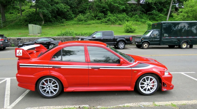 Mitsubishi Lancer Evolution VI Spotted in Greenwich, CT