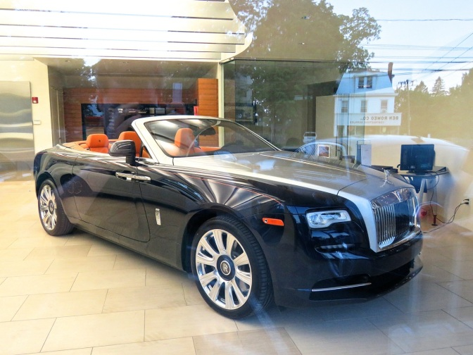 Check out the incredible spec on this Rolls Royce Dawn