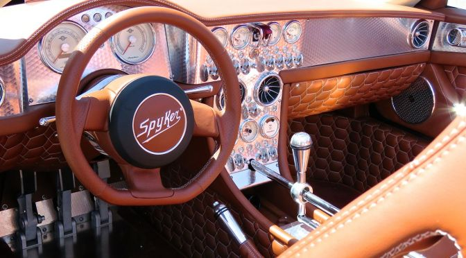 Spyker C8 Preliator Spyder at the CF Charities Supercar Show