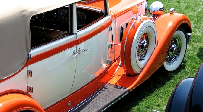 1934 Packard 1104 Convertible at the Misselwood Concours