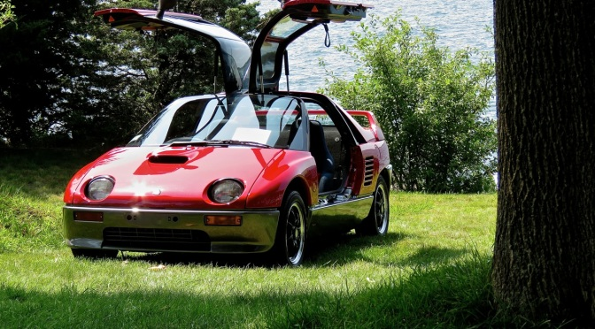 The mighty little Autozam AZ1 at the Misselwood Concours