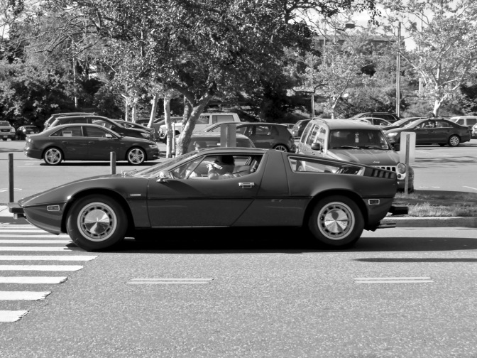 Maserati Bora spotted in Greenwich, CT