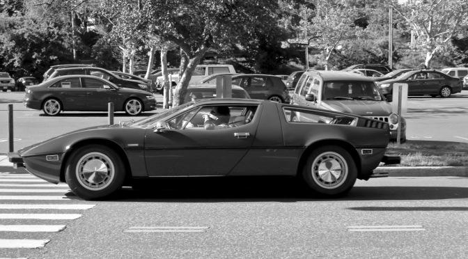 Maserati Bora spotted in Greenwich, CT